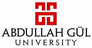 Abdullah Gul Universitesi Logo Son EN