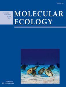 Molecular Ecology Cover April 2015
