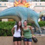 Ocean and Jessica at Animal Kingdom