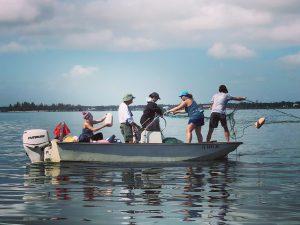 IRL Net Boat