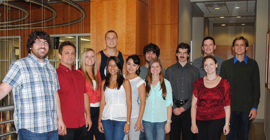 Kolpashchikov Lab Group September 2013