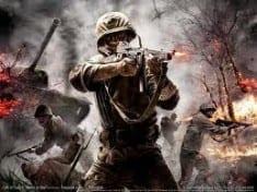 violent video game image