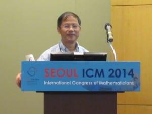 International Congress of Mathematicians , Mathematics