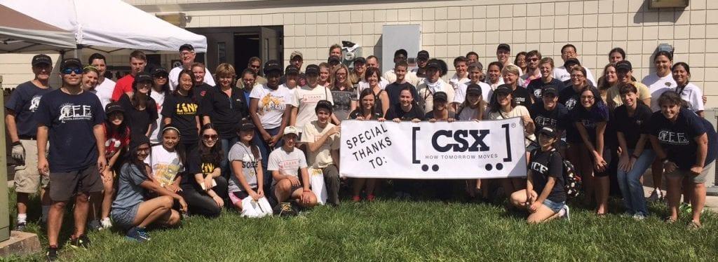 Volunteers gathered at the UCF Biology Field and Research Center to help restore degraded shorelines and oyster reefs in the Indian River Lagoon.