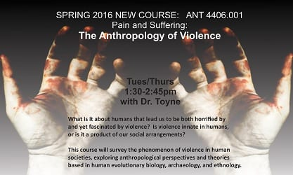 New anthopology course