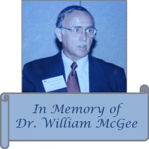 Dr. william McGee - Memorial