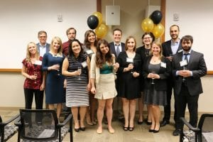 The college's spring 2016 Ph.D. graduates were honored at a special pre-commencement celebration.