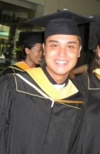 Christopher Leinonen Graduation