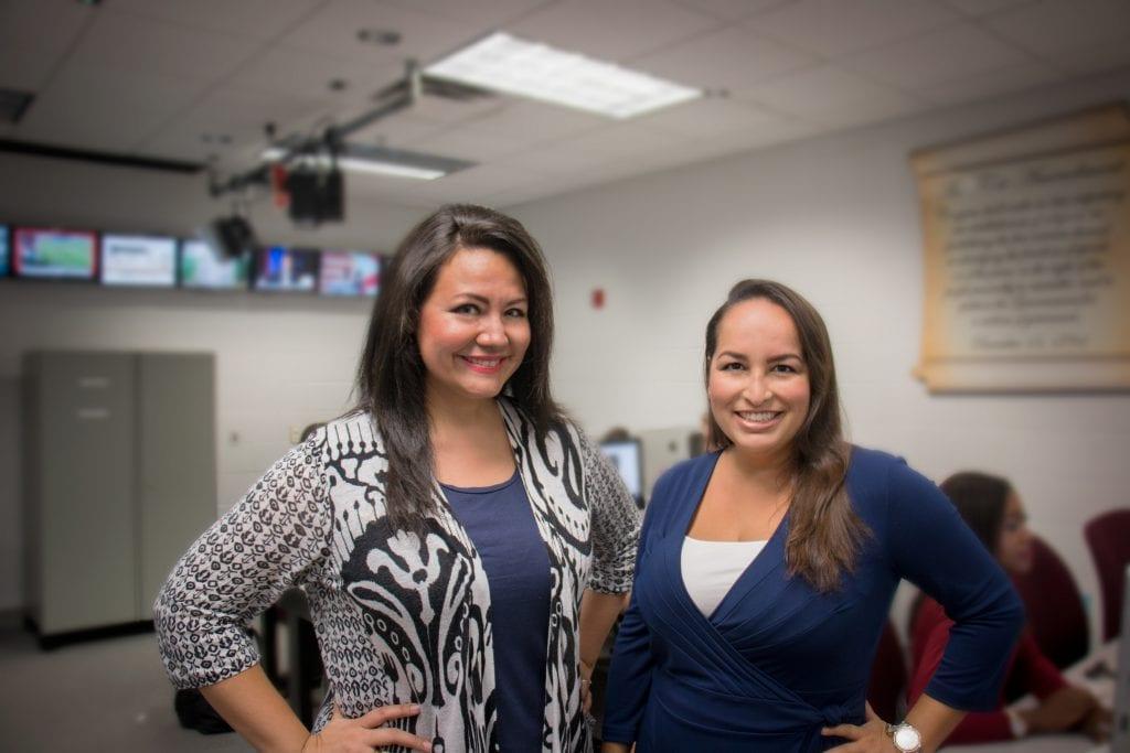 Katie Coronado and Erica Rodriguez Kight
