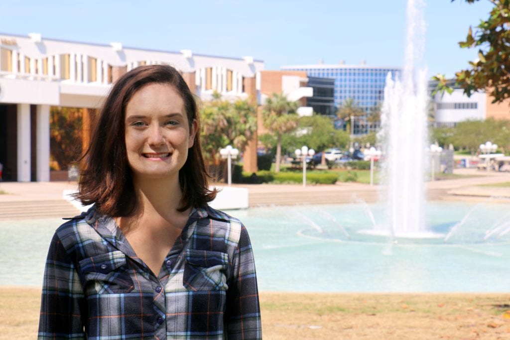 Hanna Reed, UCF math student