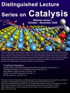 Distinguished Lecture Series on Catalysis @ zoom